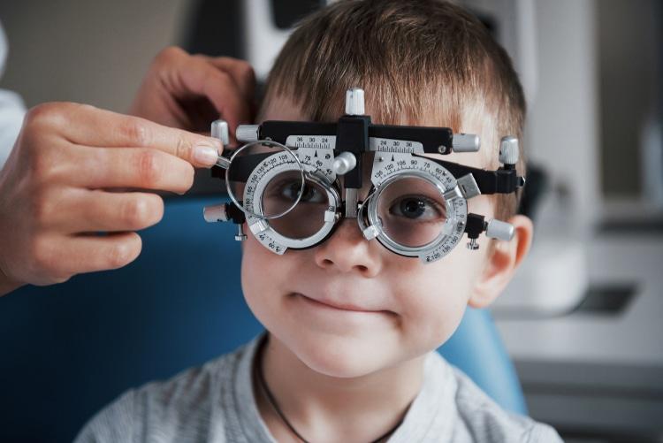 בדיקת ראיה ילדים